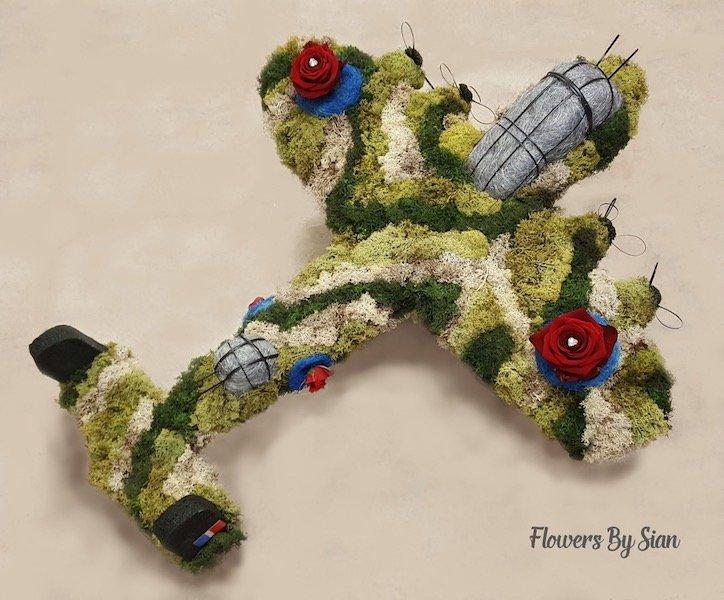 Lancaster Bomber Floral Arrangement