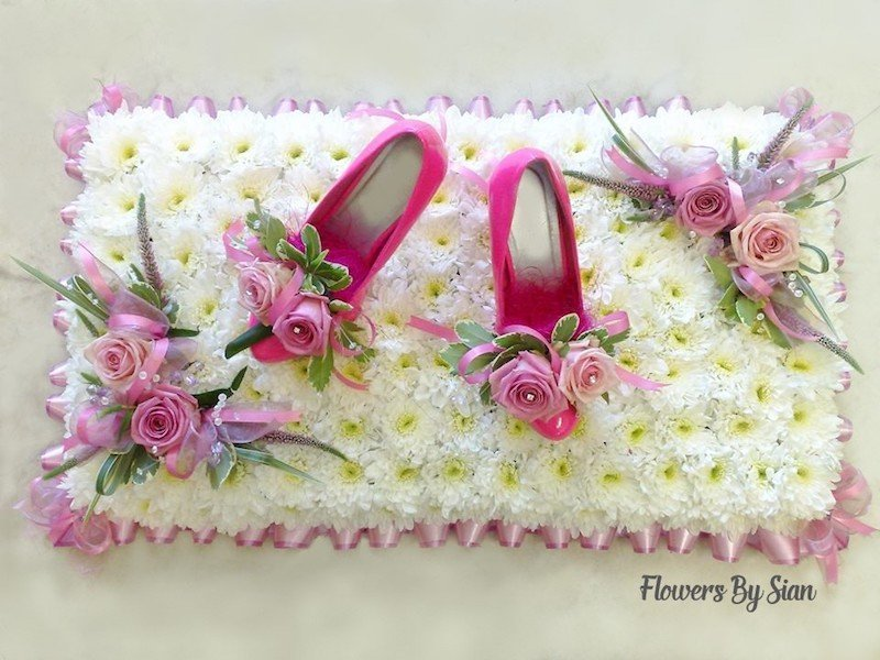 Shoes Floral Tribute