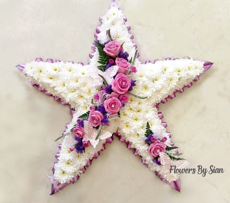 Star Floral Tribute