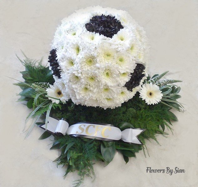 Football Floral Tribute